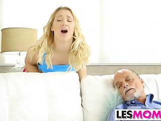 Mother-in-law Sierra Nicole Eats Her Stepdaughter Cory Pursue