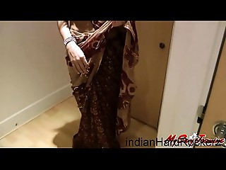 Indian Pornstar Fucking a Foreigner