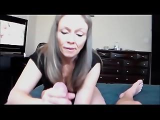 Mom&#039_s Jerk off instruction