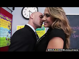 Large Love muffins at School - Mean Teacher Bang Her Former Student scene starring Alanah Rae &amp_ Johnny Sin