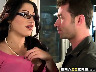 Large Boobs at Work - U Bang My Son U Are Fired scene starring Daisy Cruz and James Deen