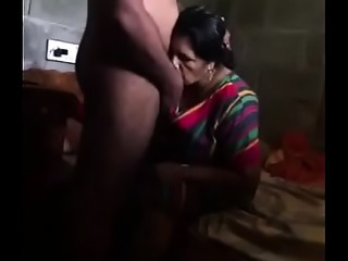Indian older aunty cheats with her spouse and receives drilled by husband&#039_s brother.