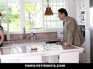 FamilyStrokes - Hawt Mama Bails Son To Shag