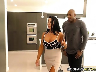 Mother I'd like to fuck Simone Garza&#039_s 1st Time BBC Anal-copulation