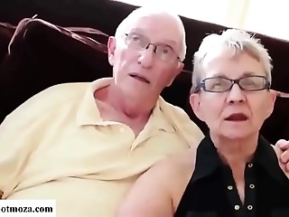 Man Copulates his Grandmother whilst Granpa watches