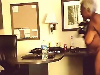 Mature &amp_ Gold ebony hot grandmothers
