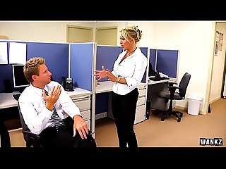WANKZ- Holly Halston is the Ultimate Mother I'd like to fuck Boss
