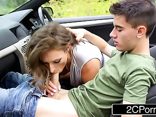 Cock-Loving British Mother I'd like to fuck Ava Austen Is Taking A Road Travel In Search Of Large Schlongs