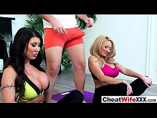 Superb Wife (august summer) Cheats On Camera IN Hard Style Act movie-06