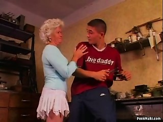 Grandmother Effie Anal sex