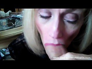 Mama Drains Her Sons Balls Of Cum