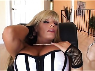 Big breasted Mother I'd like to fuck Drilled On The Ottoman