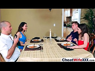 Superb Wife (melissa riley) Cheats On Camera IN Hard Style Copulation movie-20