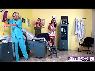 IntimateLesbians - Jessica, Puma and Nicole fucking wicked in the office
