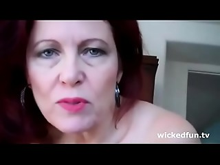 Mom dominate her son on wickedfun.tv
