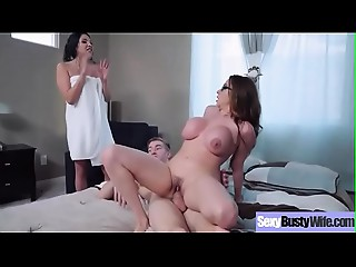 (Ariella Ferrera &amp_ Missy Martinez) Bigtitted Mom Have a fun Hard Style Sex On Tape Clip-03