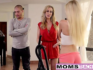 Cum Longing Teenie Alex Grey Bonks Stepmother &amp_ Brother