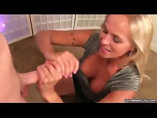 cumblast-Horny  mother I'd like to fuck tugjob