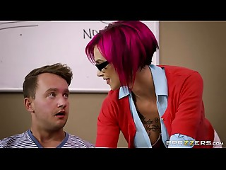 Brazzers - Wicked teacher Anna Bell Peaks can't live without pecker