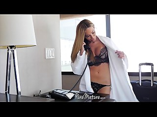 PureMature - Tan lined mother I'd like to fuck Subil Arch copulates the bell lad