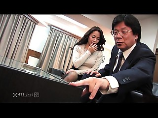 41Ticket - Japanese Aged Caught Fucking Stepbrother (Uncensored JAV)
