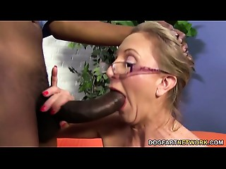 Hawt mother I'd like to fuck Jenna Covelli takes 2 BBC&#039_s